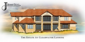 Rear Elevation of The Estate at Clearwater Landing