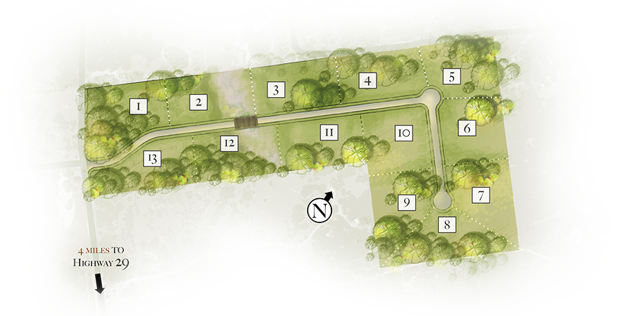 Bridle Gate Site Plan