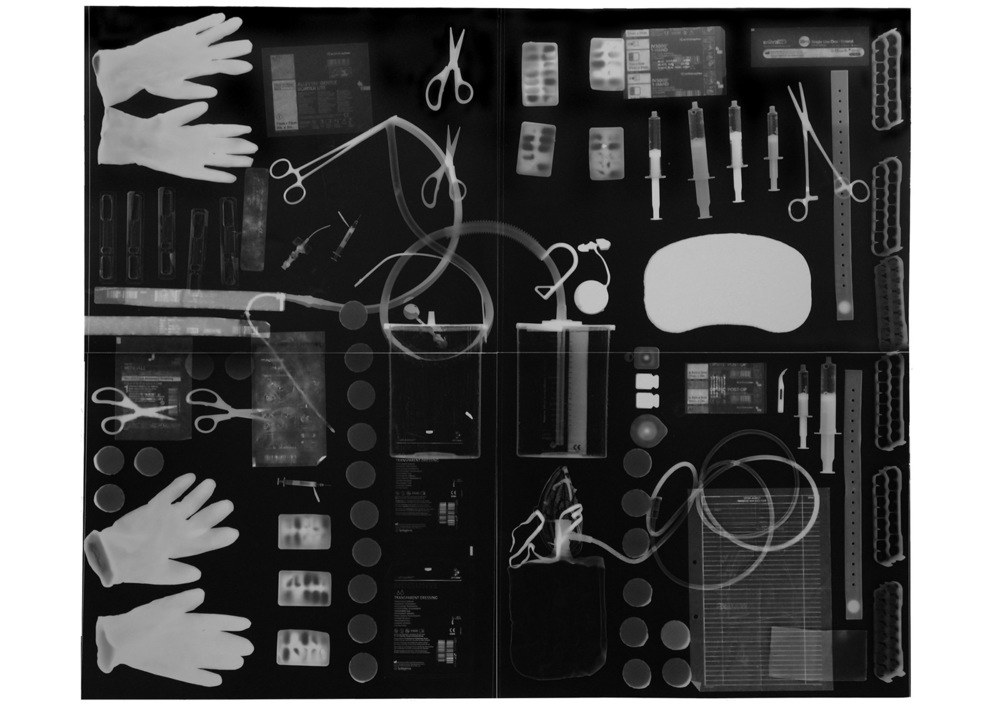 photogram 2014 'Breathe' shown at the Pitt Rivers Museum