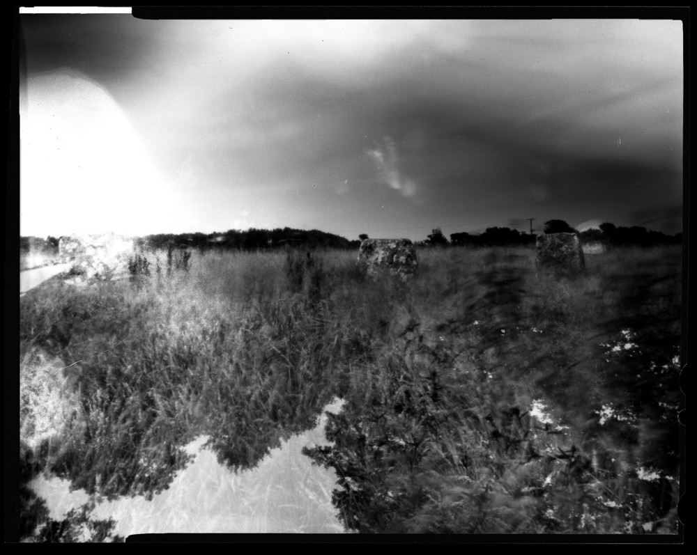 pinhole photograph 2015 'Merry Maidens, Cornwall'