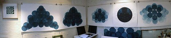 Jonathan Moss Artist Magdalen Road Studios