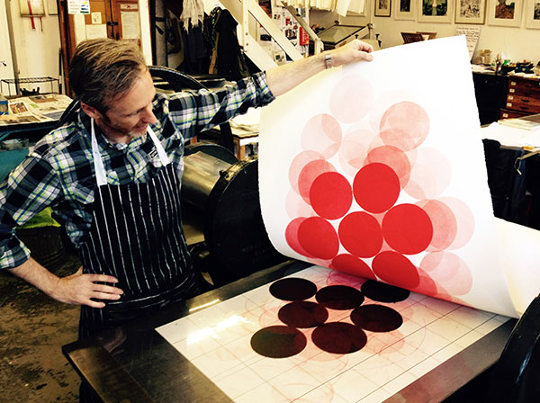 Jonathan Moss at Oxford Printmakers