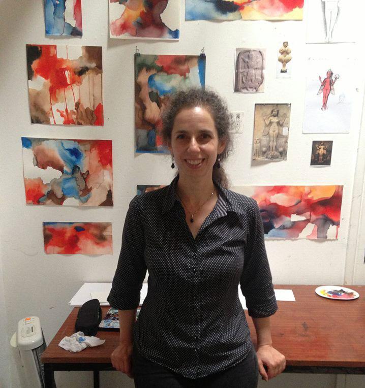 Magdalen Road Studios Artist Ellen Hausner
