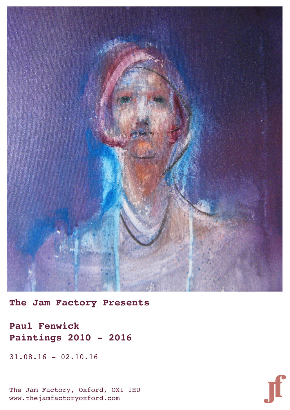 Paul Fenwick Jam Factory Exhibition