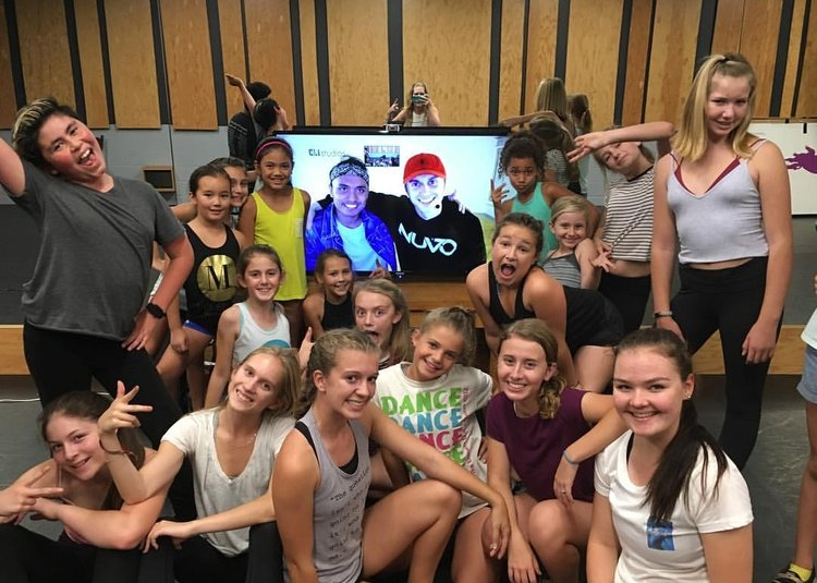 Kenny Wormald Interactive Class