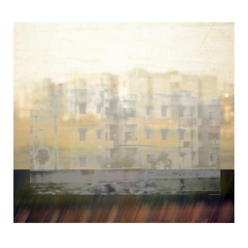 """GABRIELA GARCIA-LUNA ,  Ghost City I ,2014.Pigment print, 36 x 34"""""""""""