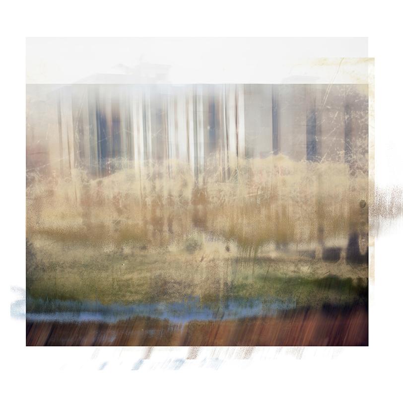 "GABRIELA GARCIA-LUNA ,  Ghost City III ,2014.Pigment print, 36 x 34"""""