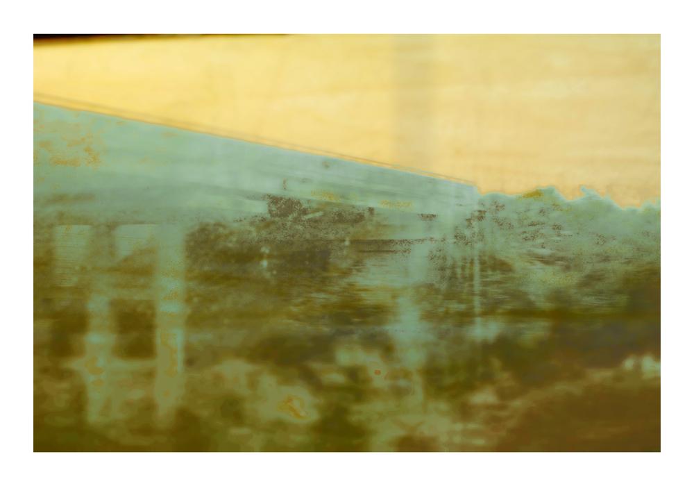 "GABRIELA GARCIA-LUNA ,  Bridge , 2014. Pigment print on paper 26.5 x 27.25"""