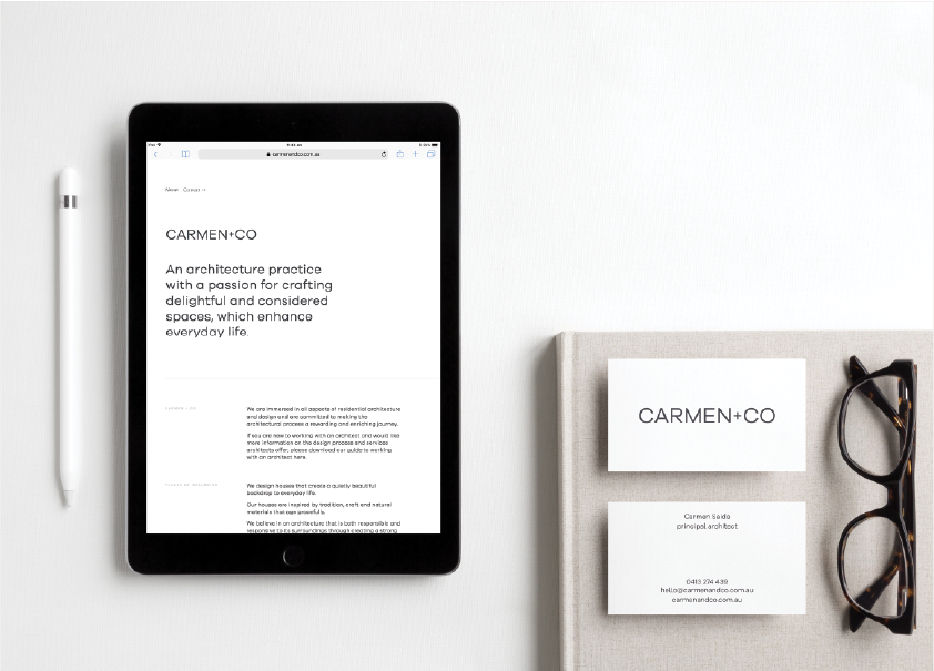Digital - Apply your story to a customised Squarespace website and bespoke online templates.