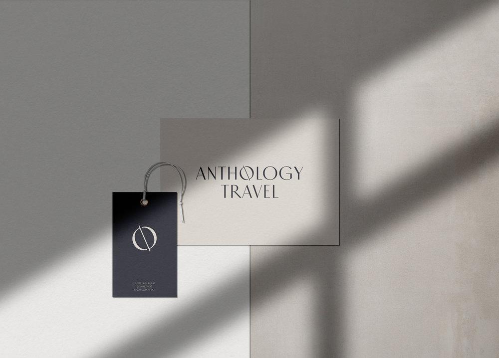 Brand & web design for  Anthology Travel