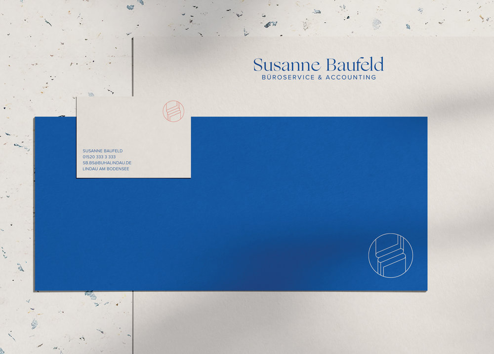 Logo suite & collateral design for a bookkeeping and administration service