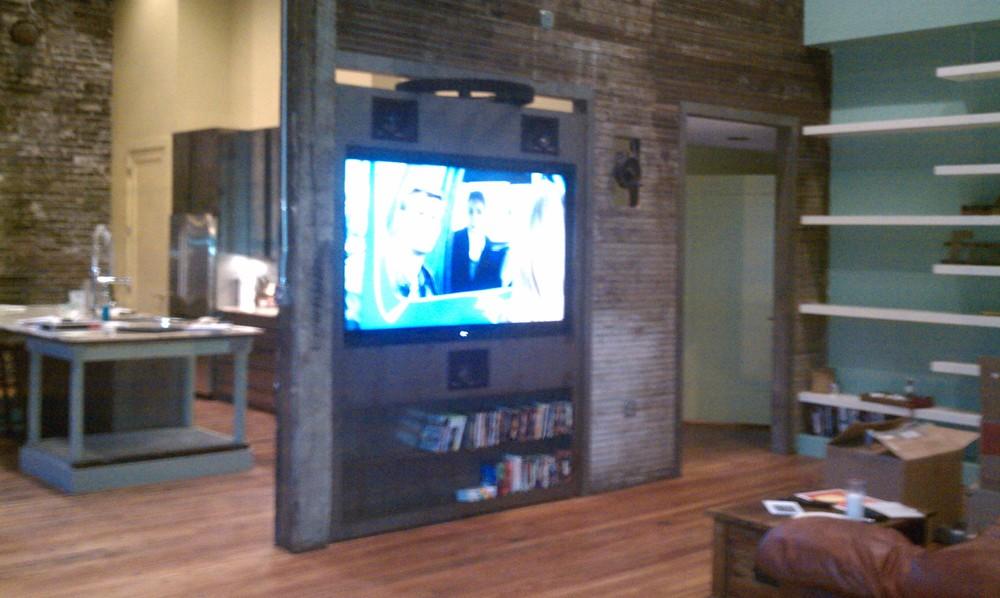 Rotating TV
