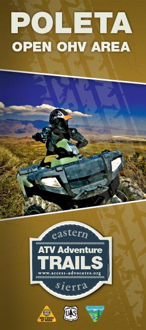 Poleta Map Brochure Front