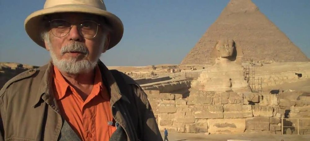 John Anthony West and the Sphinx in Giza