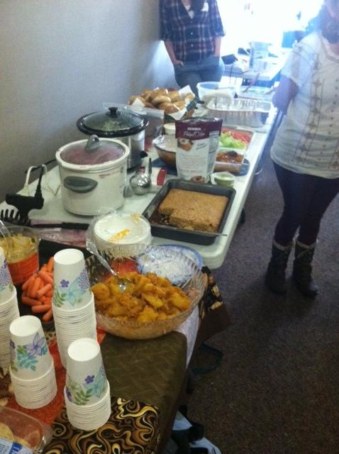 Potluck Multicultural Lunch.JPG