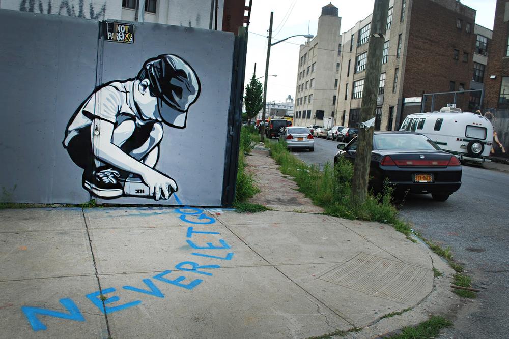 Mural by New Jersey-based artist Joe Lurato.