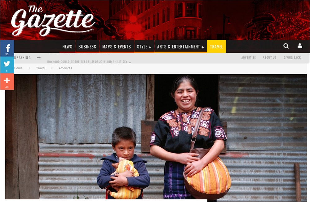 Travel Writing and Photography - focus on the empowering business practices of a  social enterprise and weaving collective in Guatemala.