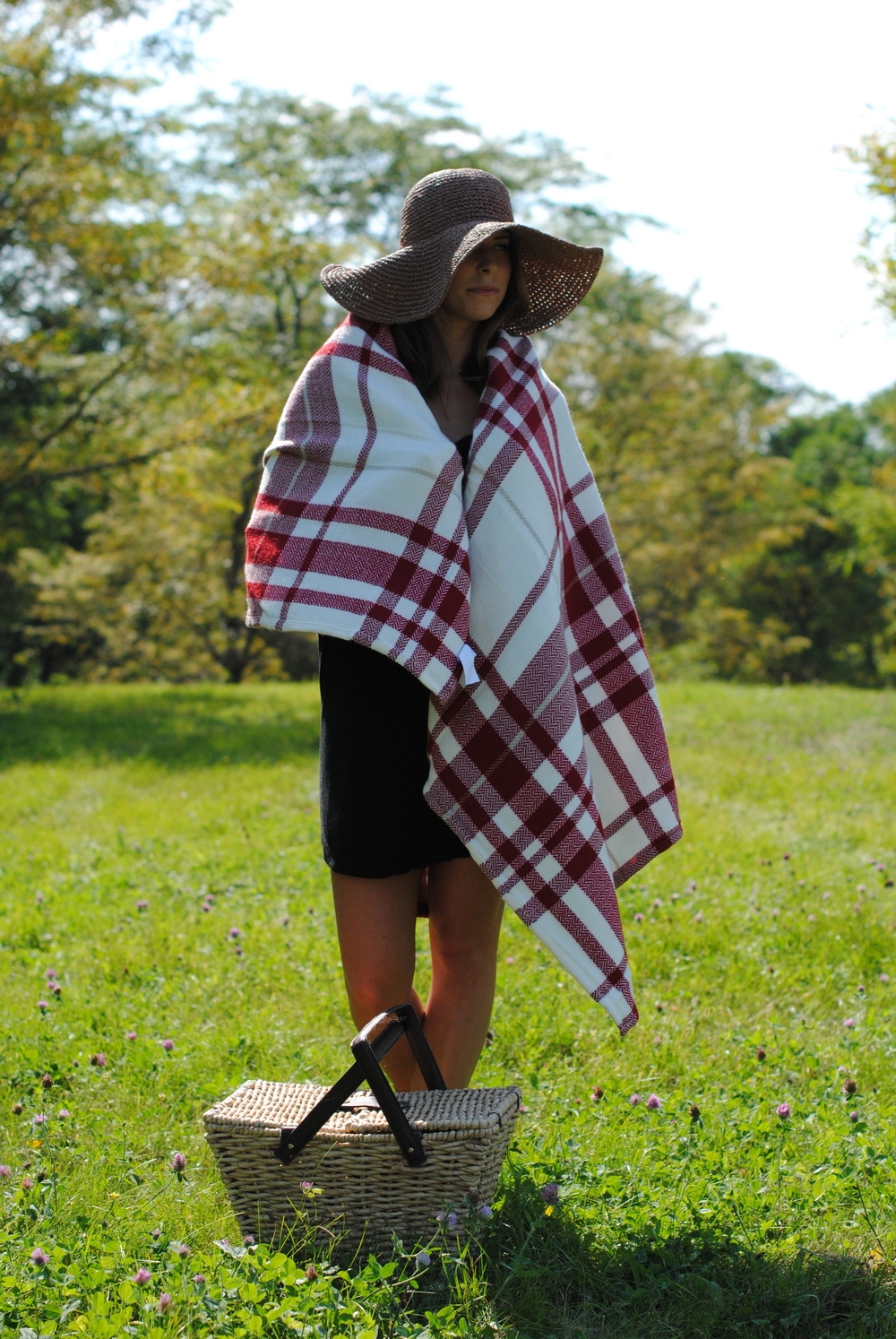 Affordable Burberry blanket cape alternative? One can dream...