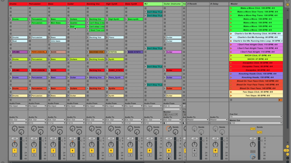 Ableton Live File Layout Tutorial