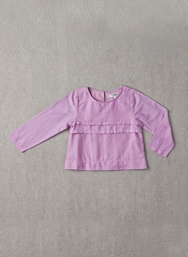 Evelyn Shirt in Lavender Herb