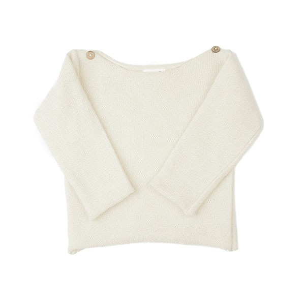 BOATNECK TOP-WHITE
