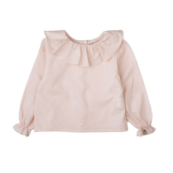 COTTON BLOUSE-LIGHT PINK
