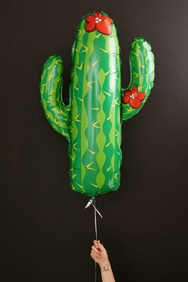 cactus balloon via urban outfitters
