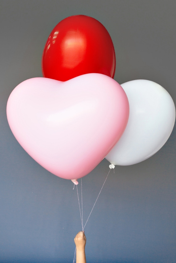 heart balloons via drop it modern
