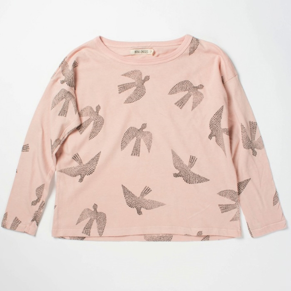 bobo choses longsleeve t-shirt – birds