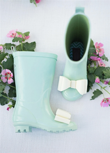 Joyful Spring Boot in Mint via  Koko Blush