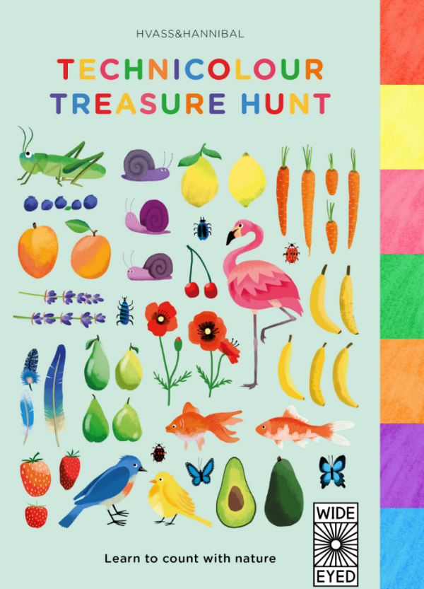 Technicolor Treasure Hunt by Hvass & Hannibal from Wide Eyed