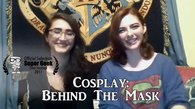 NOW PLAYING!  Cosplay: Behind The Mask now playing at Raleigh Supercon's Super Geek Film Festival. Go check it out!  Cosplayers: @simplymtd @sassydavinci
