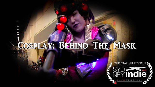 BREAKING NEWS! Cosplay: Behind The Mask will be screening at the Sydney Indie Film Festival! Yeah that's right, Sydney, Australia. 😆  @nihaoitsmari rockin the overwatch cosplay.