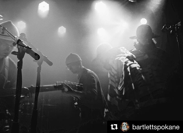 Thanks for the memories Spokane 🖤 #Repost @bartlettspokane with @get_repost ・・・ @motoponymusic last night. 🤘🏽✨