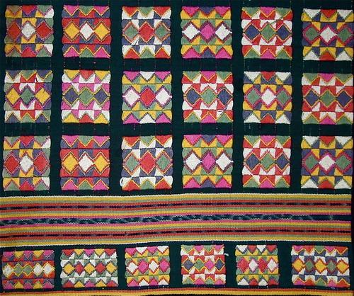 Tais, ceremonial sarong, Timor Leste. Cotton, warp ikat, warp wrap ... : cotton warp quilt - Adamdwight.com