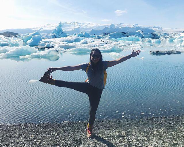 Glacier paradise 💙 #lepetittravels #iceland