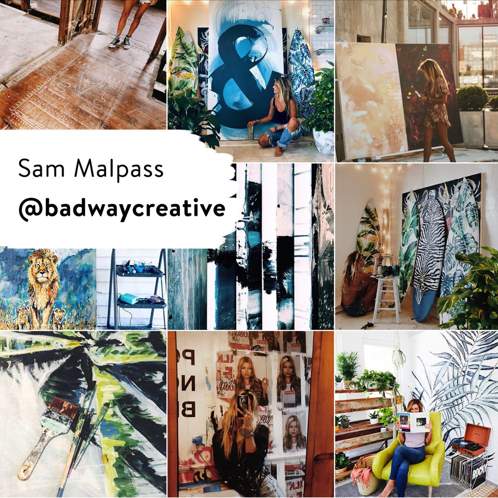 10 Painters to Follow on Instagram Right Now @creativestart