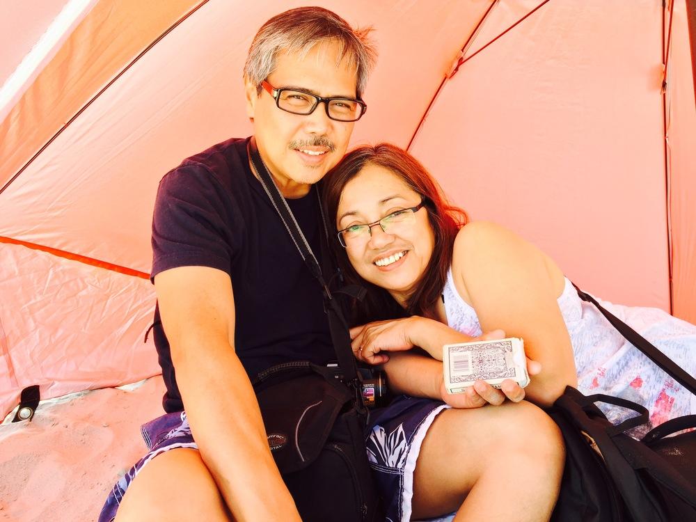 My beautiful, loving, Asian-Filipino parents!