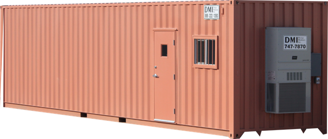 8x40 Ground Set Mobile Office & Storage