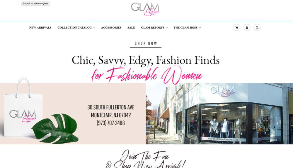 Chic Boutique - https://www.shopglamempire.com