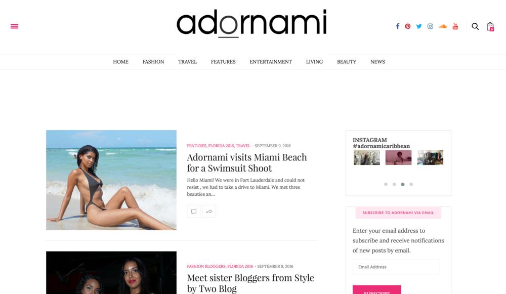 Fashion Travel LifestylePublication - http://adornamicaribbean.org/category/travel/florida-2016/