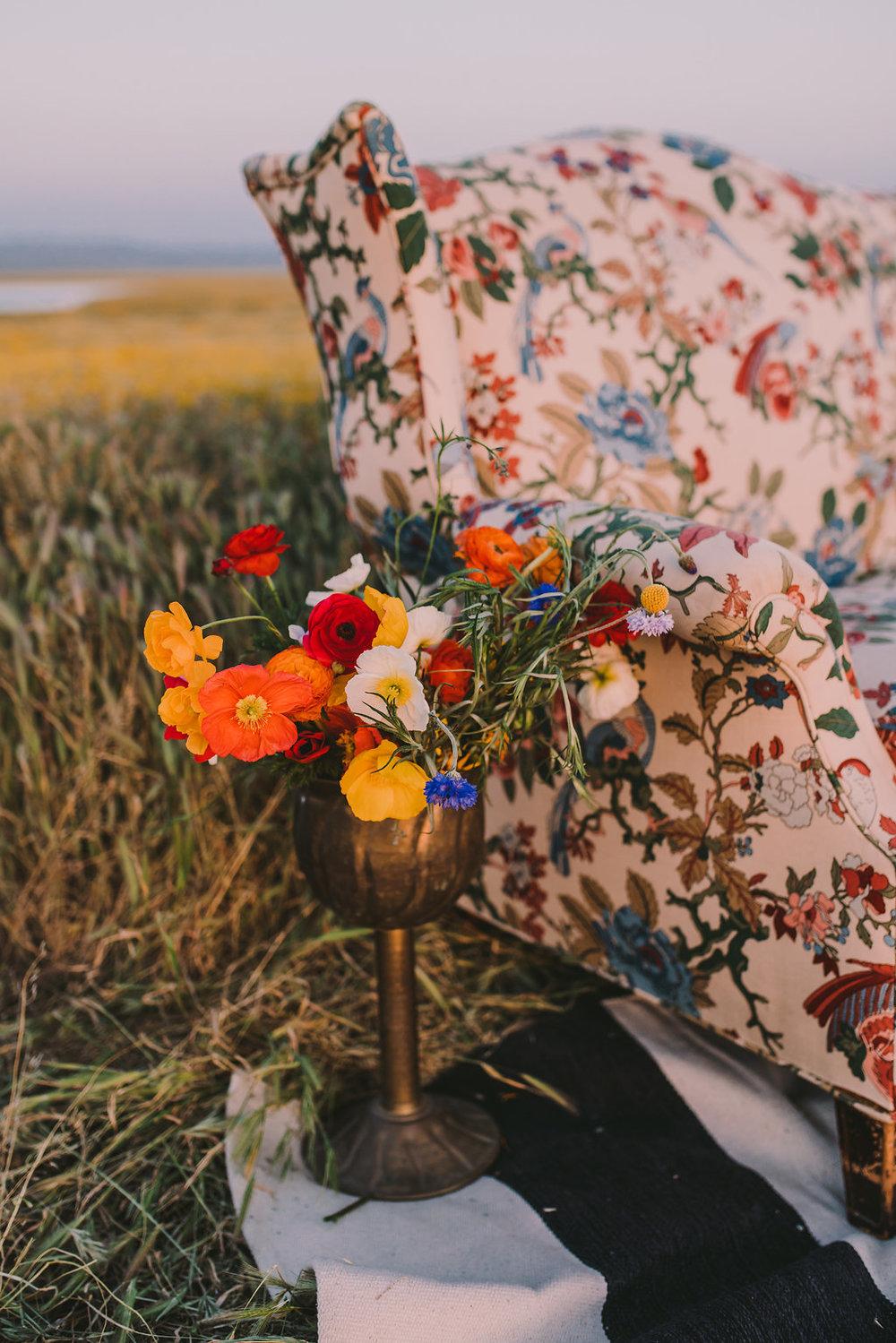 Wildflower Inspired full of poppies