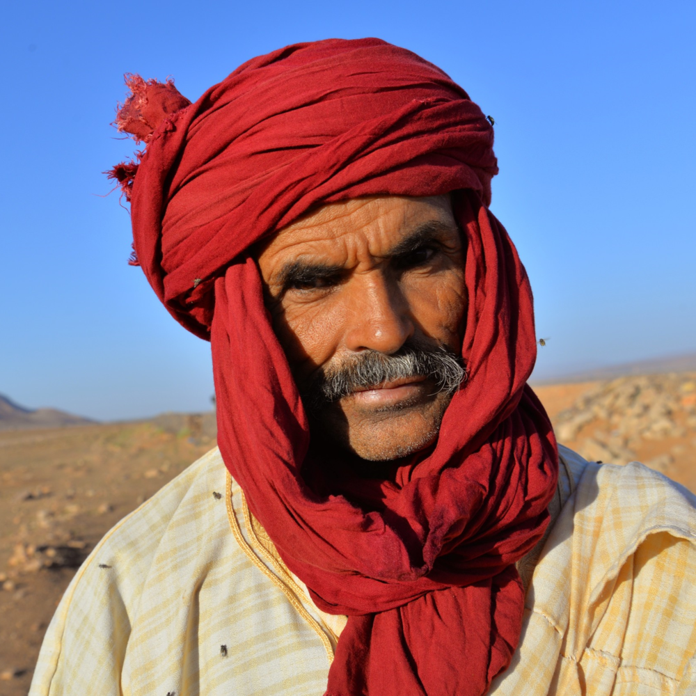 ahamed in the desert