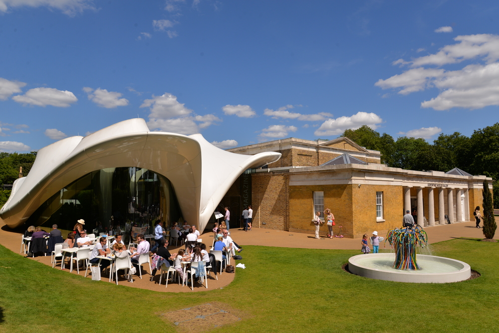 The Magazine Restaurant and Serpentine Galleries