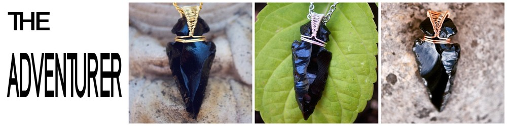 Lesson 3 features an Obsidian arrowhead and The Helix Wrap.