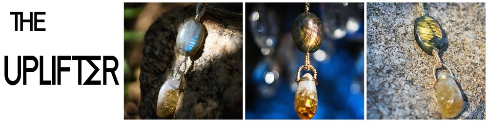 Lesson 6 features a Labradorite and Citrine bead with The Spiral Wrap.