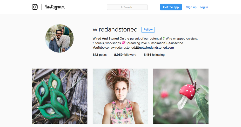 FOLLOW US ON INSTAGRAM @WIREDANDSTONED!