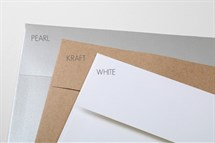 Pearl, Kraft, White