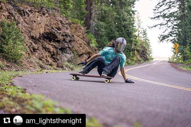 Feels like just yesterday we were living w/ this dearly loved, world traveling, Jesus following, van dwelling shredder! 😉 Miss you bro! #Repost from @am_lightsthenight ・・・ ~ Charging a downhill run deep in the PNW woods. ~ #mystyle #kidfrombend #life #thestory #life #switchbacks 📸 @lanejpearson Thanks for the sick shot! #wearethetentmakers #longboarding #downhilllongboarding