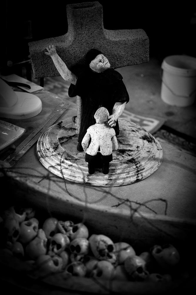 Peter Harris - clay sculpture